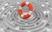 Maze to Lifebuoy