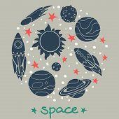 Space Doodles.