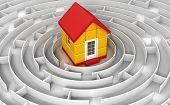 Maze to house