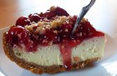 Cheesecake And Cherries
