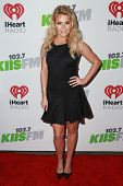 LOS ANGELES - DEC 5:  Witney Carson at the KIIS FM's Jingle Ball 2014 at the Staples Center on December 5, 2014 in Los Angeles, CA