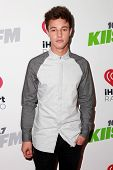 LOS ANGELES - DEC 5:  Cameron Dallas at the KIIS FM's Jingle Ball 2014 at the Staples Center on December 5, 2014 in Los Angeles, CA