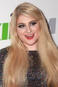 LOS ANGELES - DEC 5:  Meghan Trainor at the KIIS FM's Jingle Ball 2014 at the Staples Center on December 5, 2014 in Los Angeles, CA