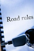 Road Rules And Car Key