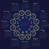 2015 Horoscope Calendar
