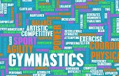 pic of olympiade  - Gymnastics as an Athletic Competitive Sport Art - JPG