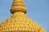 Top of the chedi in Nakhon Sri Thammarat, Thailand.