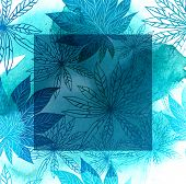 Floral Pattern With Leafs