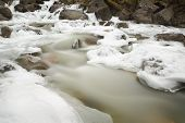 Mountain Stream, Winter Ice