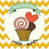 Doodle Cupcake.
