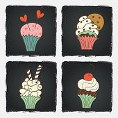 Doodle Cupcakes.