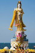 Guanyin Image In Thailand