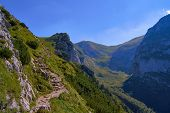 Hiking in the High Tatras mountains