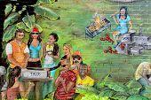 Street art Montreal picnic