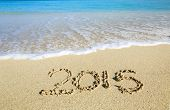 Welcoming The New Year Of  2015 At The Beach