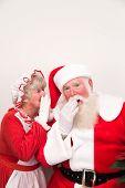 Mrs Claus Tells Santa A  Secret