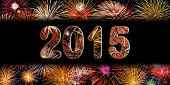 Festive Fireworks For New Year 2015