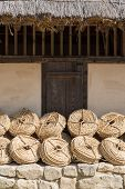 Bunches Of Straw Rope