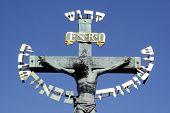 Crucifix in Prague