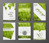 Eco Brochures set