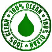 Clean product symbol