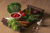 Ingredients for Italian sauce
