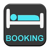 Button with Icon: Booking