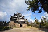 Tourist Visits Matsue Castle In Matsue