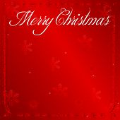 Elegant Red Christmas Wishes Background