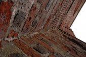 Old Brick Wall Corner