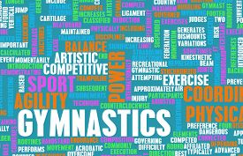 image of olympiade  - Gymnastics as an Athletic Competitive Sport Art - JPG