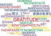 picture of gratitude  - Background concept wordcloud multilanguage international many language illustration of gratitude - JPG