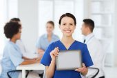 stock photo of nurse practitioner  - clinic - JPG