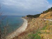 pic of world war one  - ANZAC cove site of World War I landing of the ANZACs on the Gallipoli peninsula in Turkey - JPG