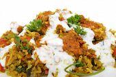 Chicken And Prawn Rice