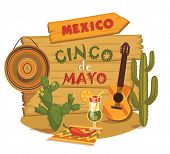 picture of traditional  - Cinco de Mayo - JPG