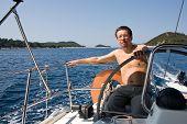 Yacht Steersman