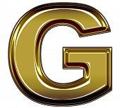 gold upper case G