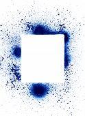 Spray Can Splatter Design Elements