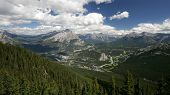View From Sulfur Mountain, Banff