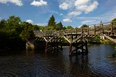 picture of trestle bridge  - Centuries - JPG