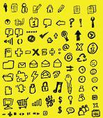 drawn icons