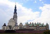 The Jasna Gora sanctuary in Czestochowa,Poland