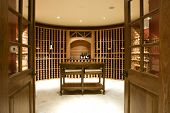 image of wine cellar  - Home Wine Cellar Room - JPG