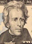 USA - CIRCA 2006: Andrew Jackson on 20 Dollars 2006 Banknote from U.S.A. Seventh president of the Un
