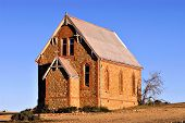 St Carthage Catholic Church at historic silverton nsw