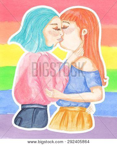 Lesbian Women In Love Romantic