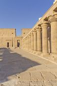 The Temple Of Isis At Philae Island. ( Egypt)