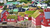 Torshavn on  Faeroe islands