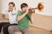 Annoying Trumpet Player